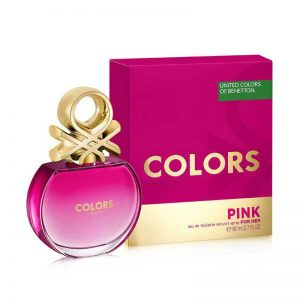 BENETTON COLORS PINK WOMAN GIFT SET